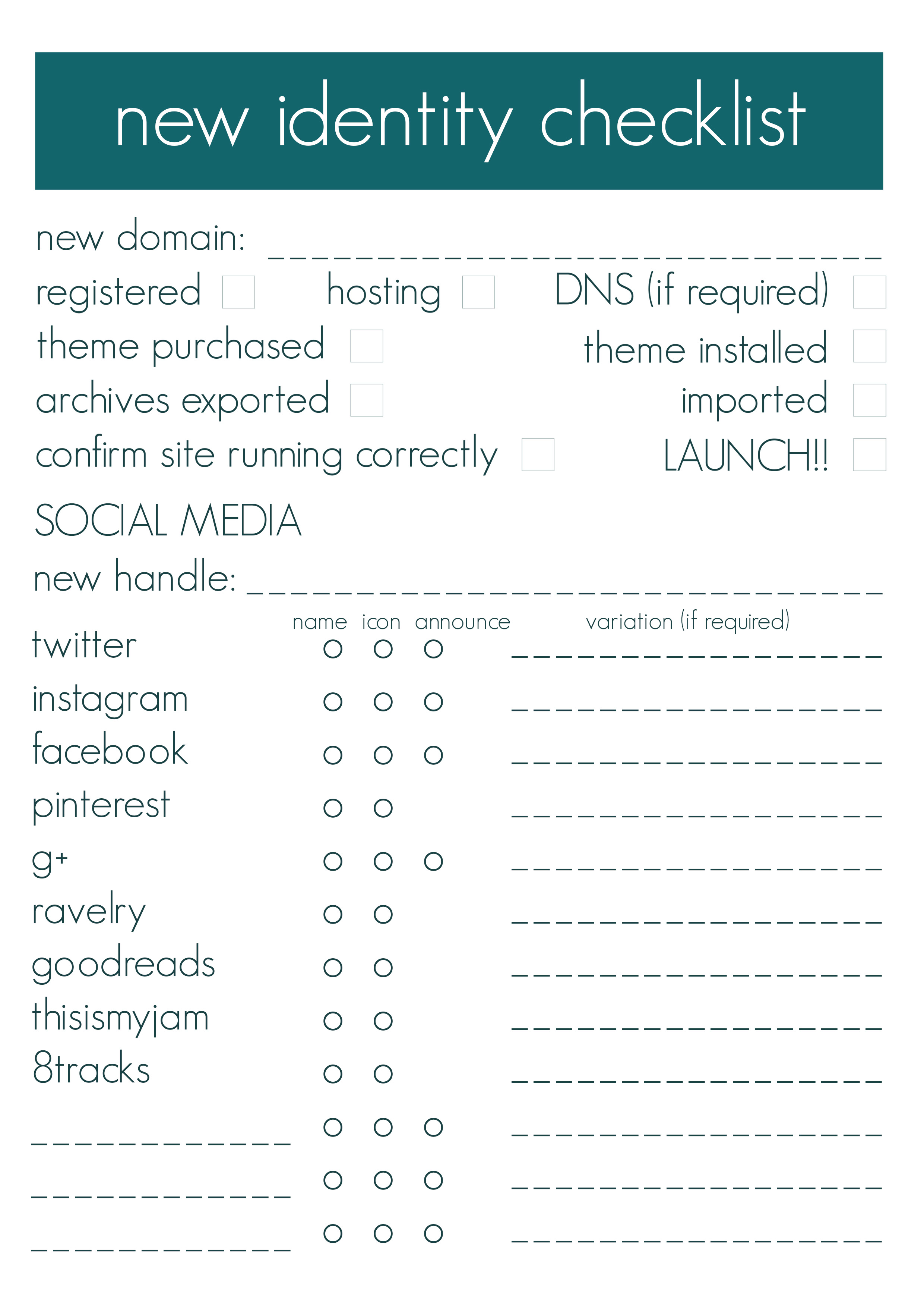 photo about Name Change Checklist Printable named upon heading barefoot furthermore a no cost designing printable