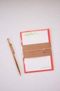 orange note cards-2