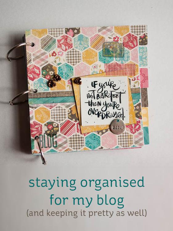 blog planner & editorial calender mini-book