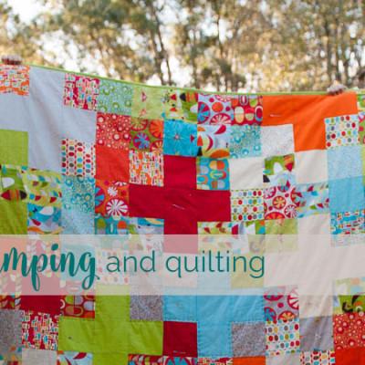 camp quilt featured
