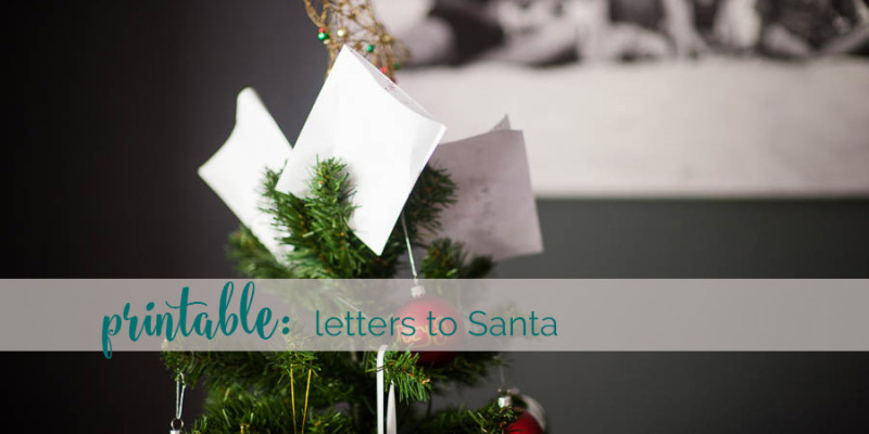 Dear Santa {free printable}