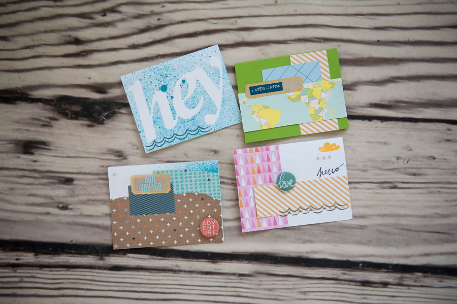 handmade cards - studio calico kit